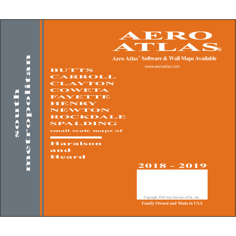 2018-2019 South Metropolitan Aero Atlas cover