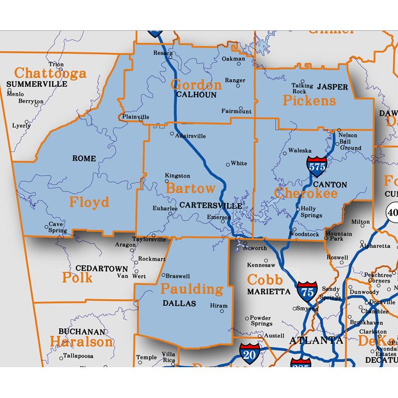 Georgia Map Books Aero Atlas Aero Surveys Of Georgia - Georgia map 2015
